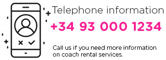 Telephone of Coach Rental Badabus