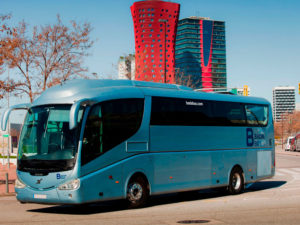 alquiler de autobús en Barcelona